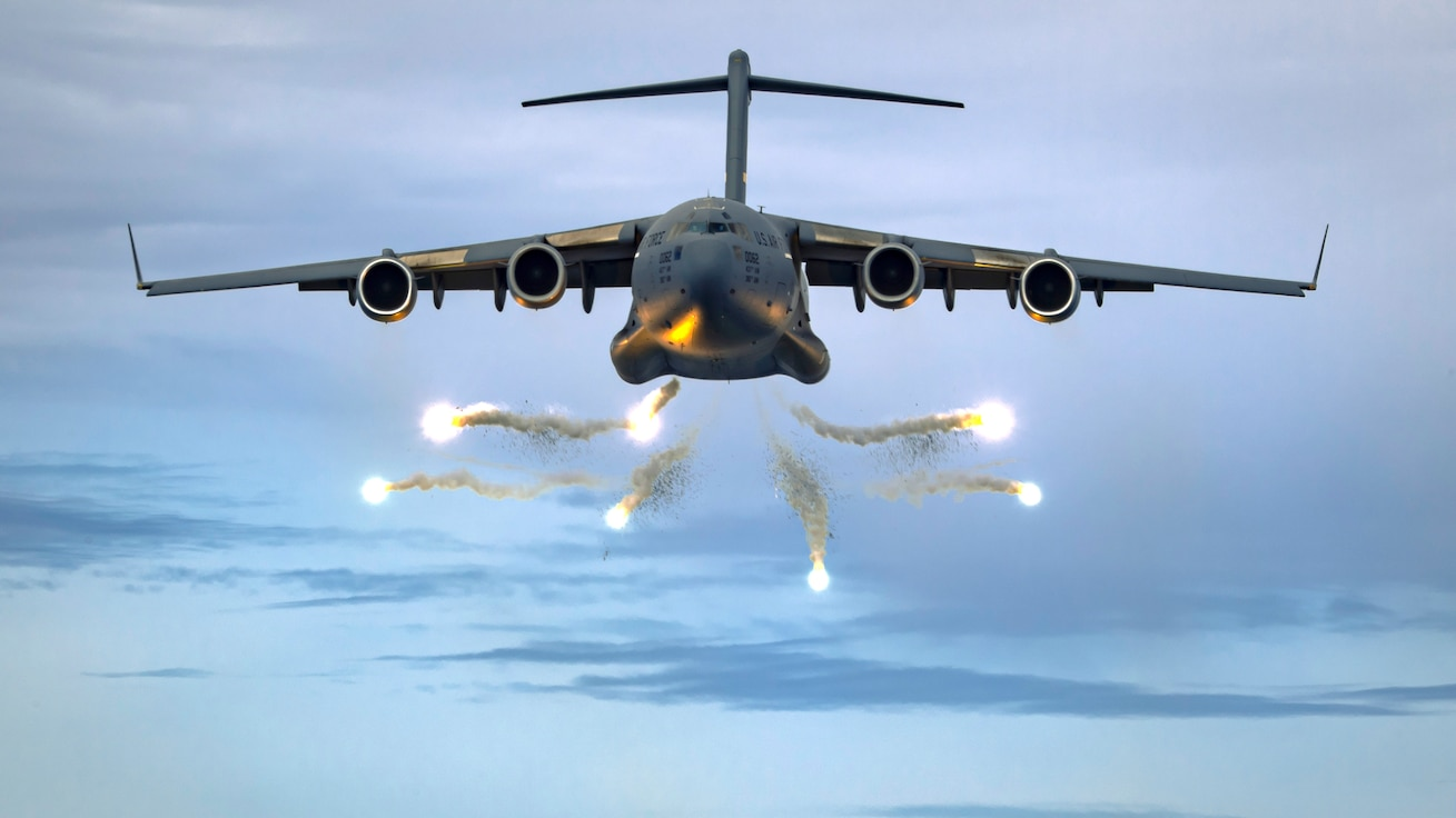 315th Airlift Wing Flare Drop