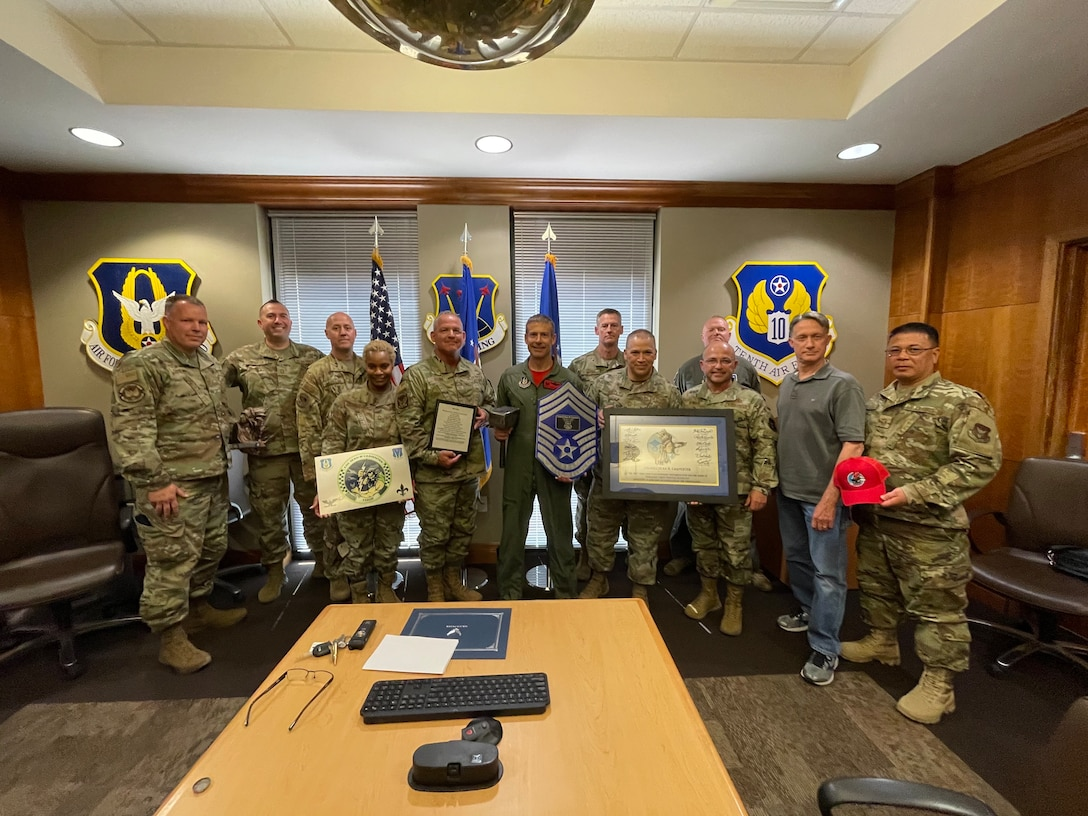 The 926th Wing Chiefs' Group recognized the wings newest chief master sergeant during a ceremony June 11, at Nellis Air Force Base, Nevada.