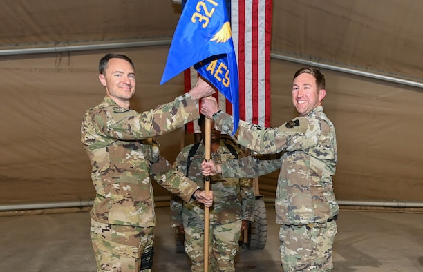 443rd AES; Peace through power their history lives on