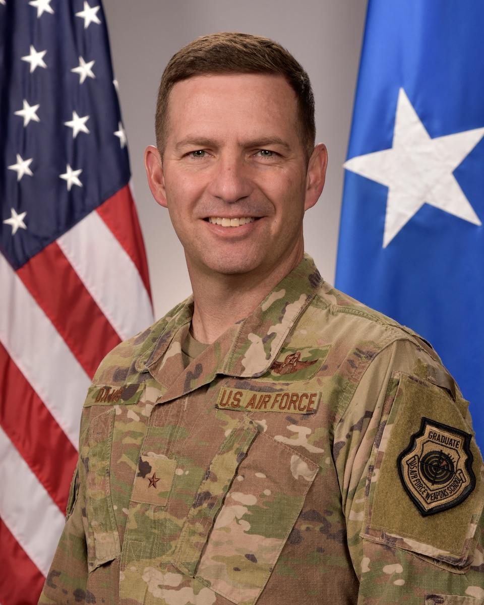 This is the official portrait of Brig. Gen. Robert D. Davis. (U.S. Air Force photo)