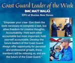 Our Deckplate Leader of the Week is Chief Petty Officer Matt Bialas!