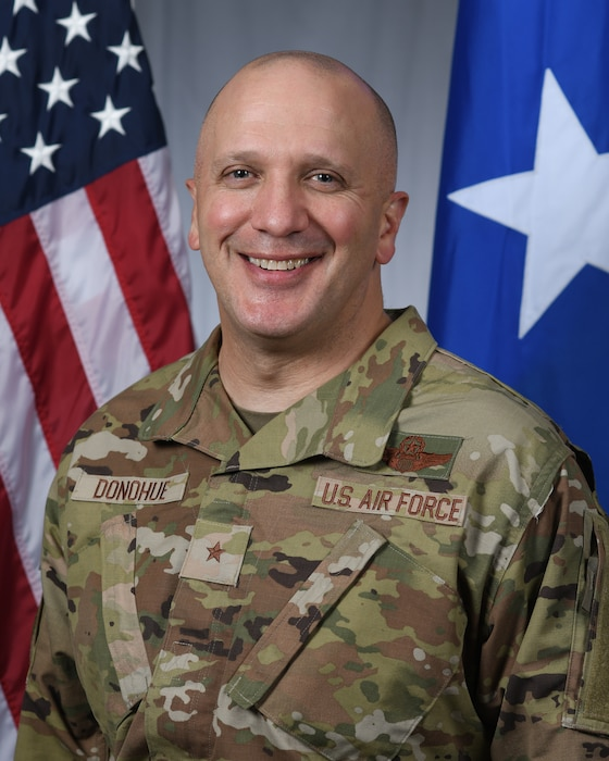 Official Biography photo of Brig. Gen. Gerald Donohue