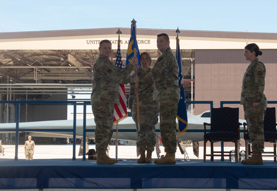 Hillier takes command of 509th Munitions Squadron
