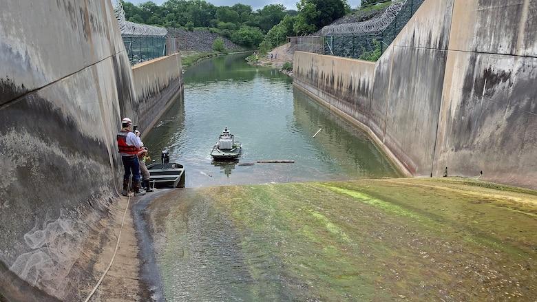 DamBot Testing at Stillhouse Hollow Lake