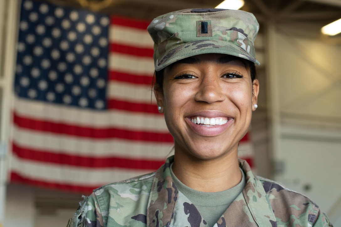 USAF Officer's Passion Rooted Life-Long Values