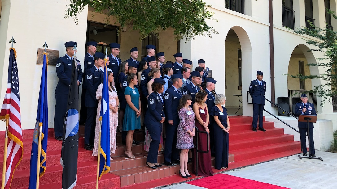 Air Force Recruiting Service honors top recruiters during Operation Blue Suit