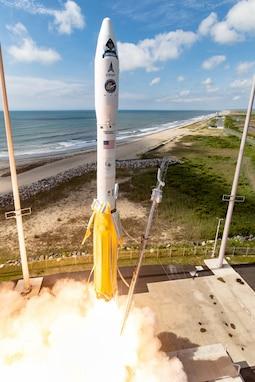 NROL-111 successfully launches from NASA's Wallops Flight Facility in Virginia