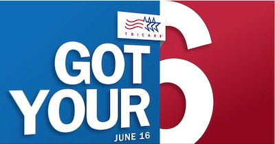 'Got Your 6' is TRICARE's COVID vaccine video series that delivers important information and updates, three times a month. It includes the latest information about DoD vaccine distribution, the TRICARE health benefit, and vaccine availability.