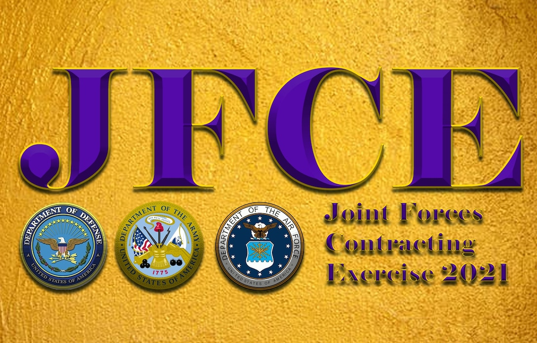 Graphic for Joint Forces Contracting Exercise 2021