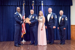 The Chief Recognition Ceremony took place at Sheppard Air Force base, Texas, June 11, 2021