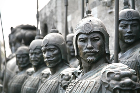 China's aggressive pursuit of territorial gain.