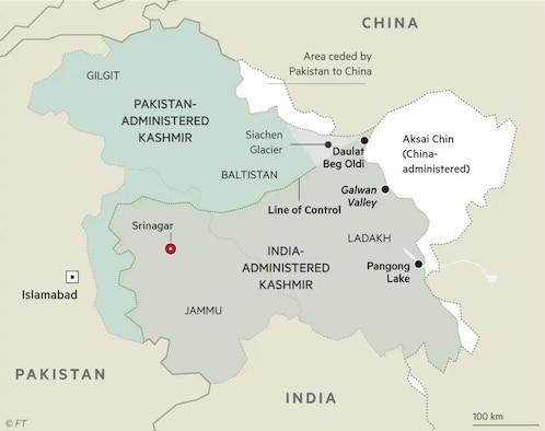 Sino-Indian border dispute