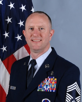 Chief Master Sgt. Bruce Haskin, 88th Medical Support Squadron superintendent