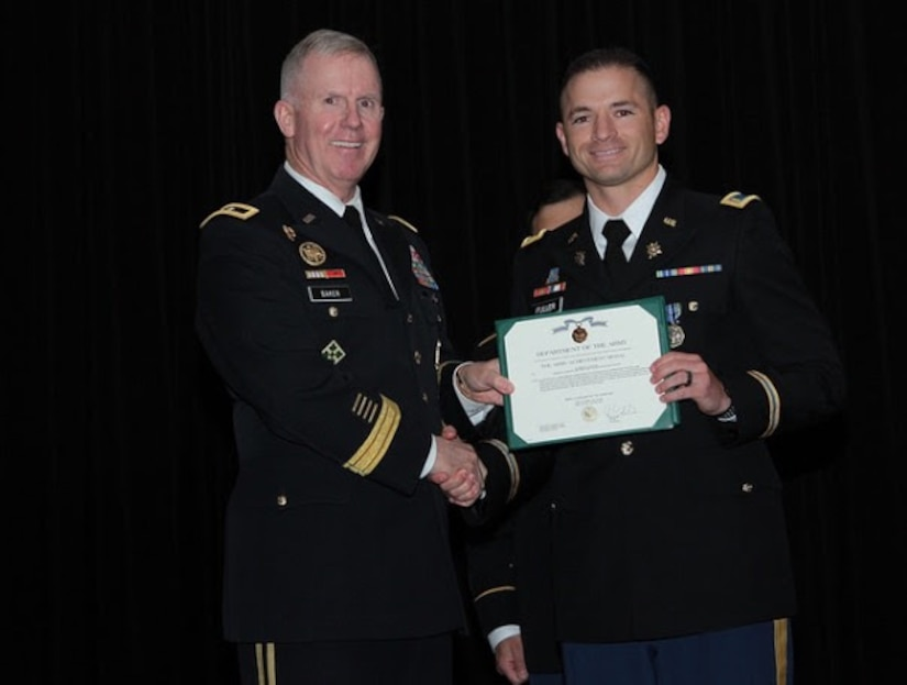 1st Lt. Bryan Fuller is Distinguished Honor Grad of MIBOLC, May 2017