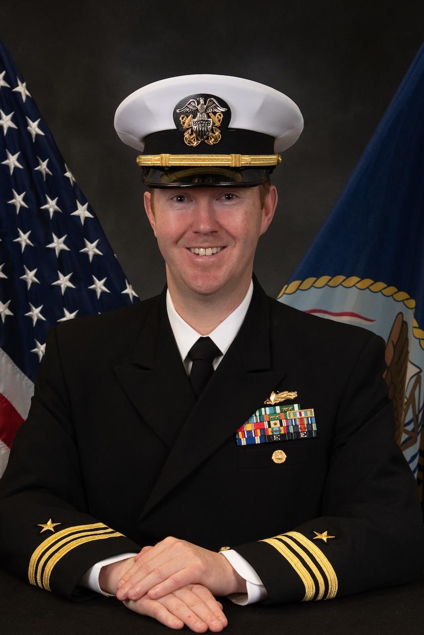 Lieutenant Commander Phillip O. Lundberg
