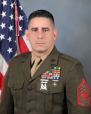 Sergeant Major, 4th Law Enforcement Battalion
