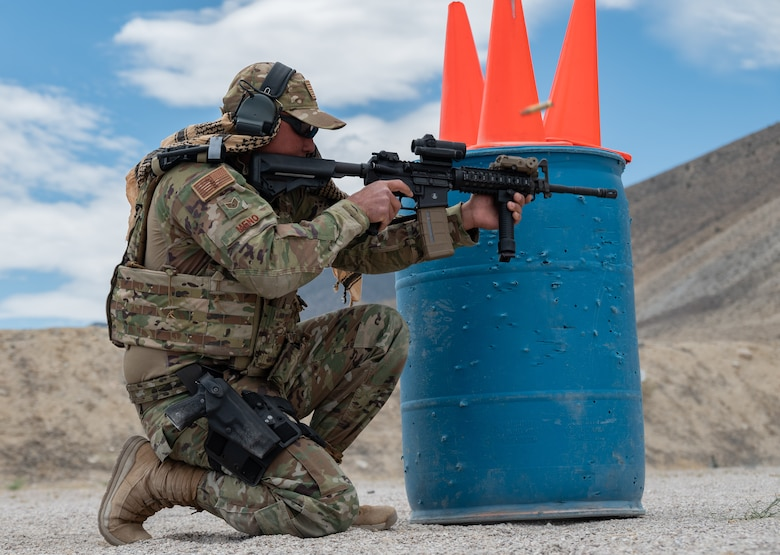 Ready, Set, Fire! 152nd SFS maintain proficiency at the shooting range