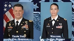 Olmstead departs DLA Distribution Red River and Huertas takes command
