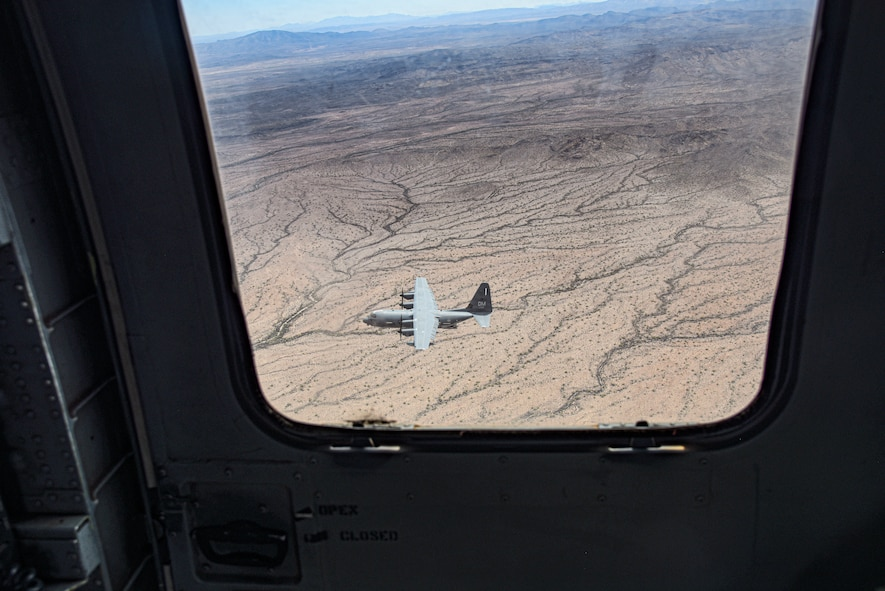 A photo of an aircraft flying