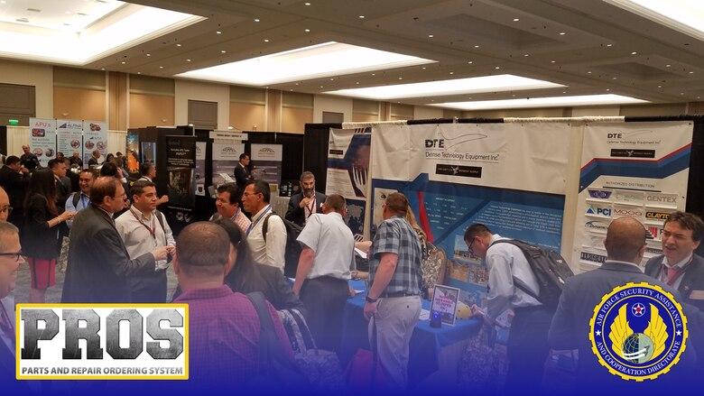 Vendor exhibition at the C-130 TCG Conference 2019 in Orlando, Florida. (Courtesy photo)