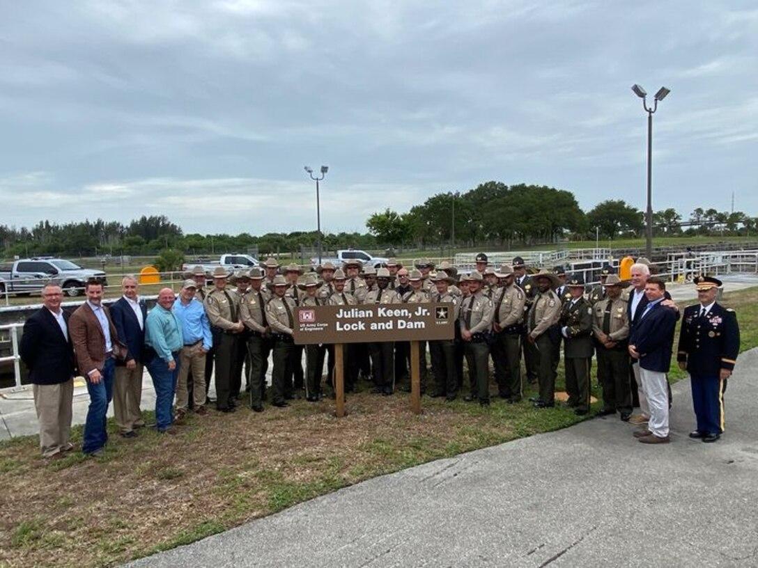 Renaming of Moore Haven Lock and Dam to Julian Keen, Jr. Lock and Dam