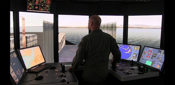 ERDC has begun to ship simulator technology for military uses giving leaders a tool to simulate vessel landings in severe environments.