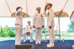 Adm. Linda Fagan relieved Adm. Charles Ray as the 32nd Vice Commandant of the Coast Guard during a Change of Watch ceremony at Coast Guard Headquarters, June 18, 2021. Ray retired after more than 40 years of service in the Coast Guard.