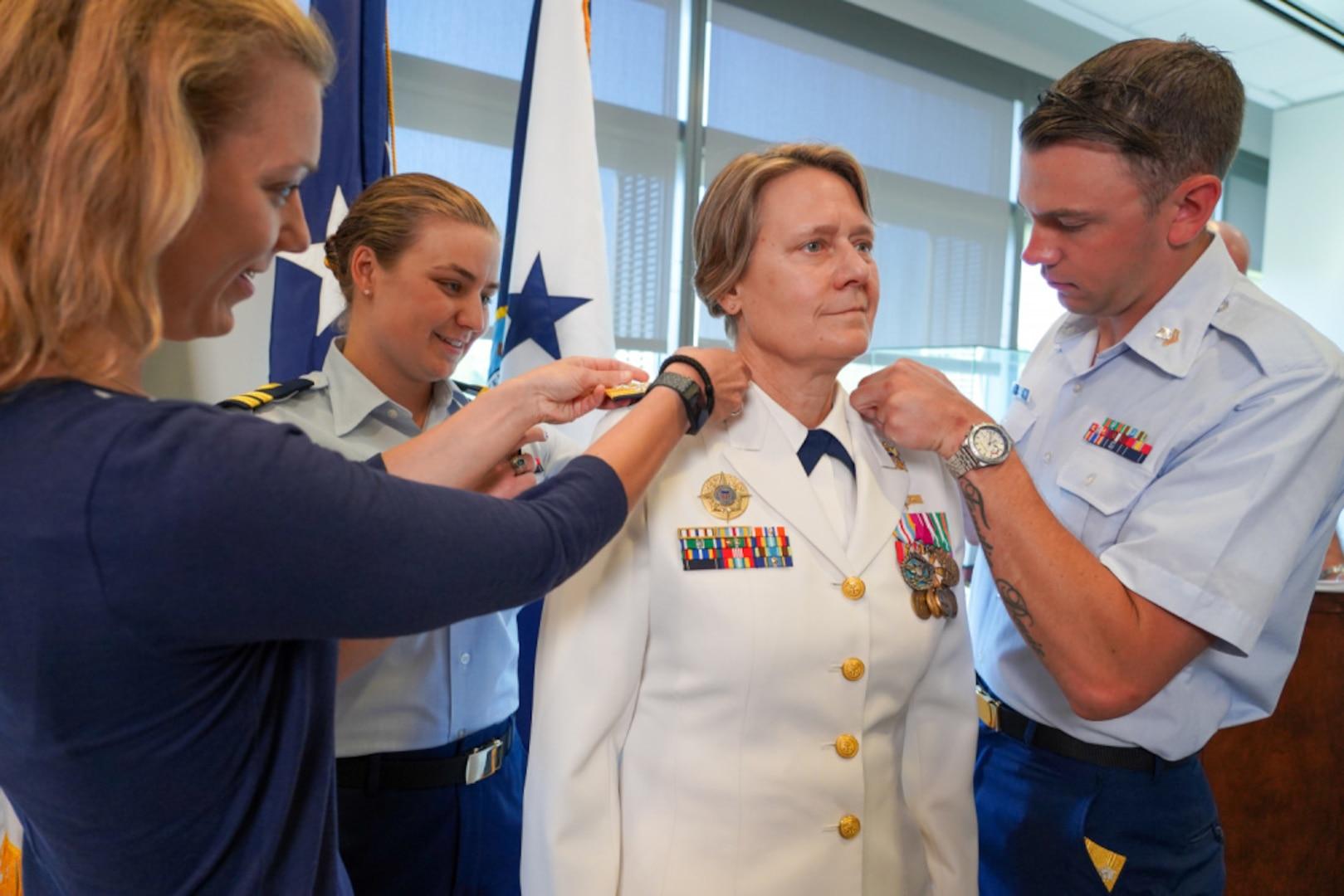 Vice Adm. Linda Fagan promoted to rank of admiral