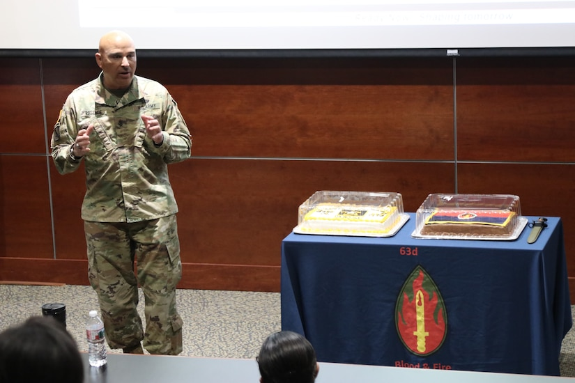 63rd Readiness Division HHD hosts inaugural Army Heritage Day event