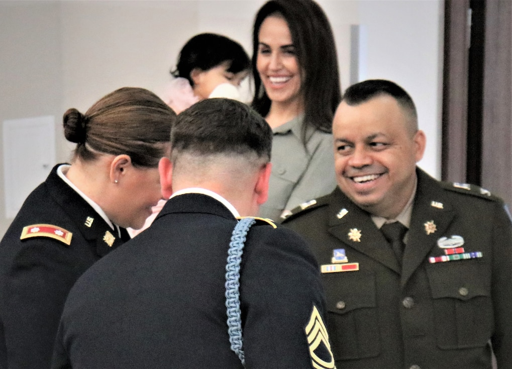 Col. Jorge M. Fonseca at the official signing of the Assumption of Command Orders.