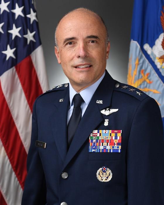 This is the official portrait of Lt. Gen. Robert Miller.