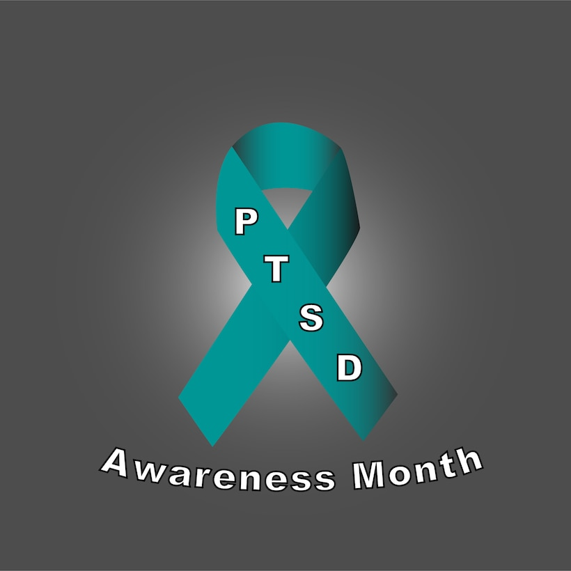 According to the National Center for Posttraumatic Stress Disorder, the term PTSD was introduced in 1980 in the Diagnostic and Statistical Manual of Mental Disorders, third edition and has played an important role in psychiatric theory and practice. (U.S. Air Force graphic by Airman Joshua Rosario)