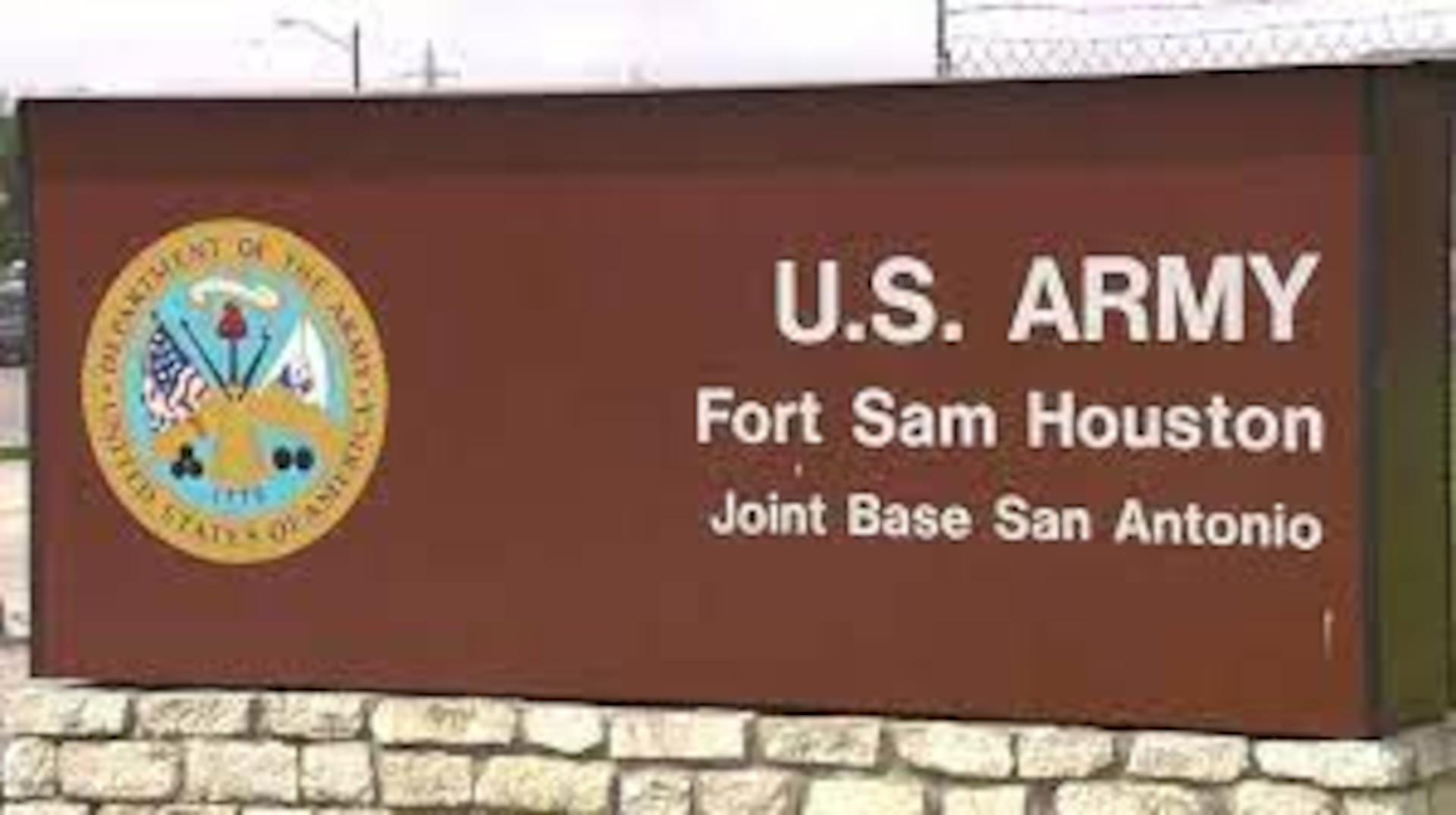 Fort Sam Houston signage