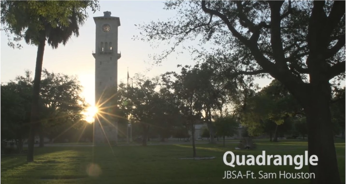 In this video, we highlight some of the sights, sounds and features you can see within the Quadrangle on Joint Base San Antonio-Fort Sam Houston.