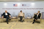 REMARKS BY CHARGÉ D'AFFAIRES RAFIK MANSOUR, U.S.-SINGAPORE RELATIONS AT 55: :  Our Shared Past and Future