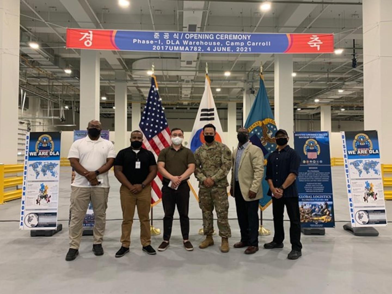 DLA Distribution Korea opens new warehouse
