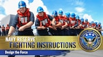 Navy Reserve Fighting Instructions Video Series – Design the Force banner graphic. (U.S. Navy video by Commander, Navy Reserve Force Public Affairs)