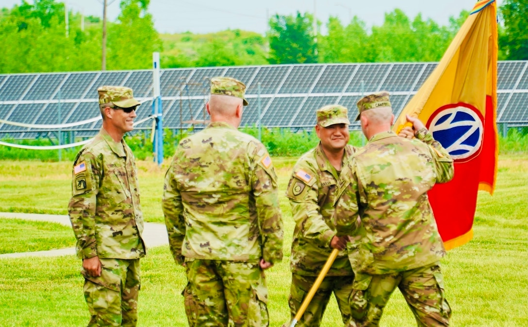 89th Sustainment Brigade conducts change of command ceremony
