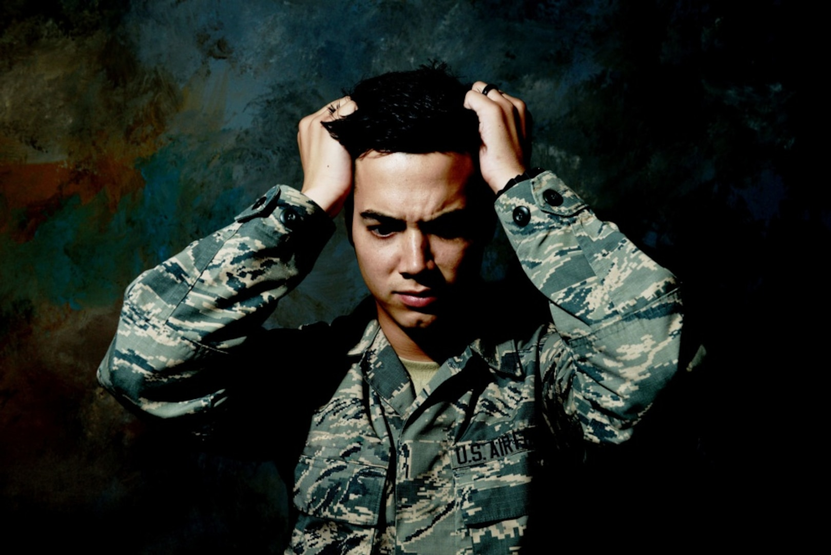 Stress can affect anyone. Common negative stressors include family, work or financial problems and are detrimental to an individual's physical and mental health over time. (U.S. Air Force illustration by Airman 1st Class Destinee Dougherty)