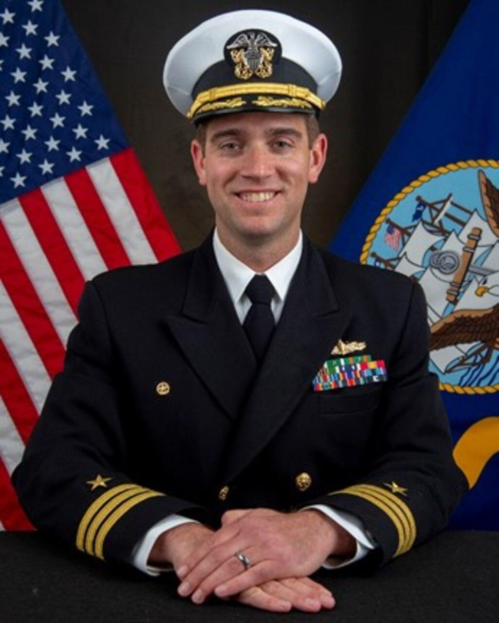 Commander James F. Hopp