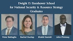 Pictures of DLA Logistics Operations' Peter Battaglia and DLA Energy's Rachel Dunlap, Khalid Hamidi, and John Phinisey