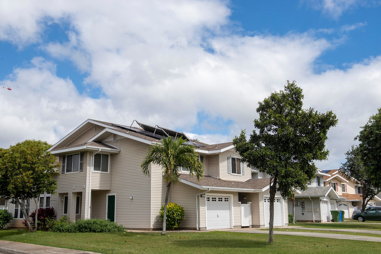 Homes in Hawaii.