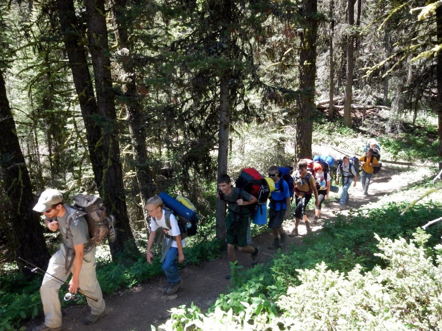 In recent years visitation has surged across public lands. The Forest Service has recorded an increase of 20% year over year, with the high point in 2020. More visitation has contributed to more search and rescue cases on national forests and grasslands across the county. (USDA Forest Service photo)