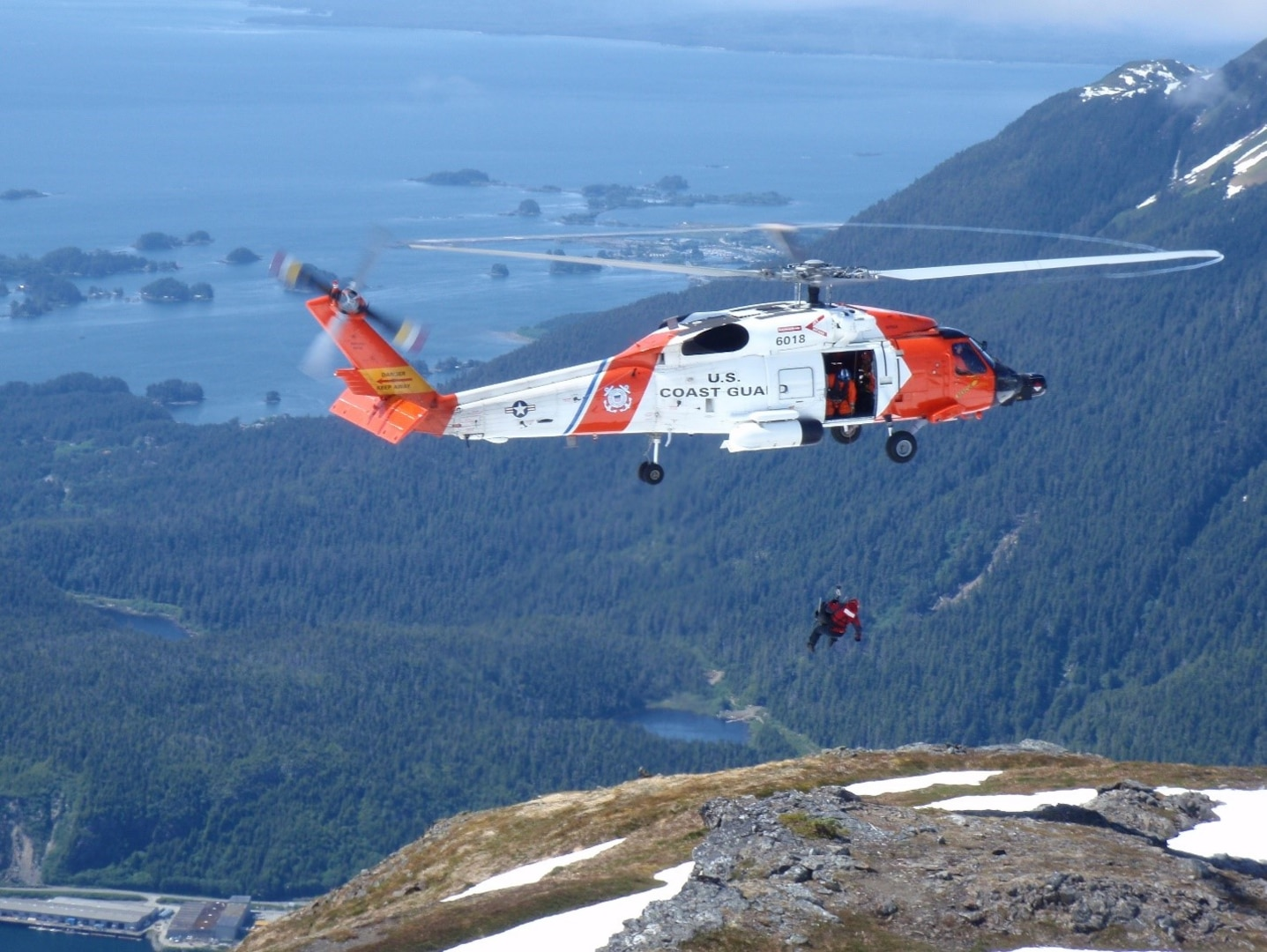 U.S. Coast Guard search and rescue crews are world renowned for their maritime rescue capabilities. The Coast Guard plays a role in search and rescue operations in remote, coastal locations like those found in and around the Tongass National Forest and Chugach National Forest in Alaska. (U.S. Coast Guard Air Station Sitka photo)