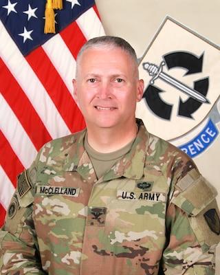 401st AFSB Commander COL Patrick J. McClelland