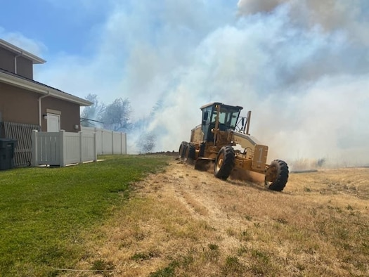 Wildland Fire Center creates fire breaks around residential areas