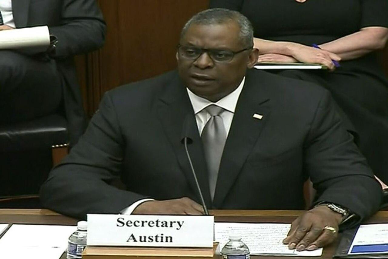 Secretary of Defense Lloyd J. Austin III testifies.