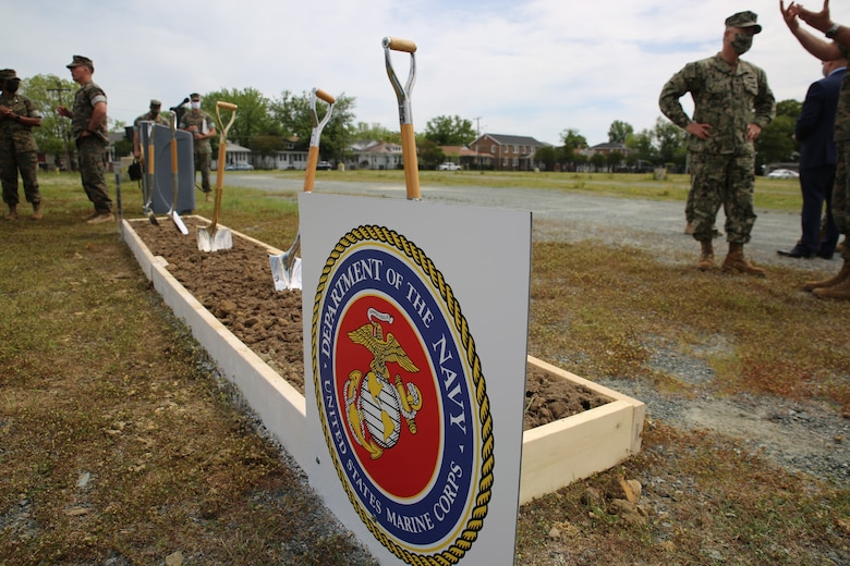 Breaking new ground: Corps' wargaming center ready for construction