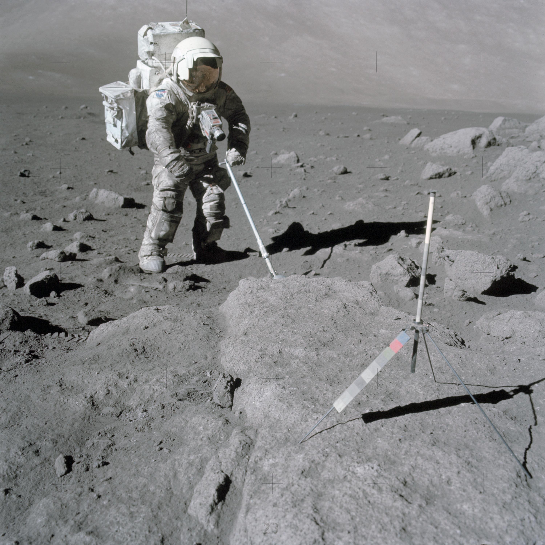 Lunar, Moon, Rocks, Samples