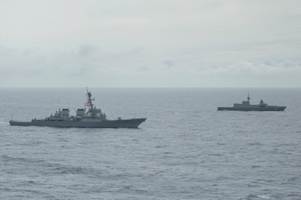 U.S., Singapore navies strengthen partnership during Pacific Griffin 2021